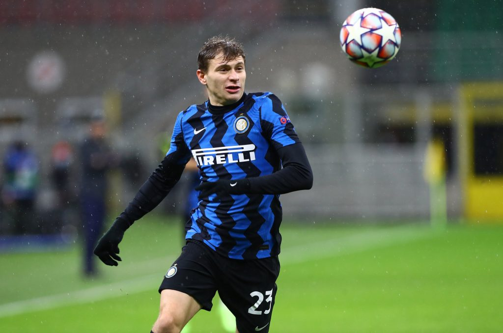 Nicolo Barella is being eyed by Tottenham Hotspur. (GETTY Images)