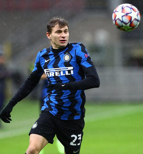 Nicolo Barella in action for Inter Milan. (GETTY Images)