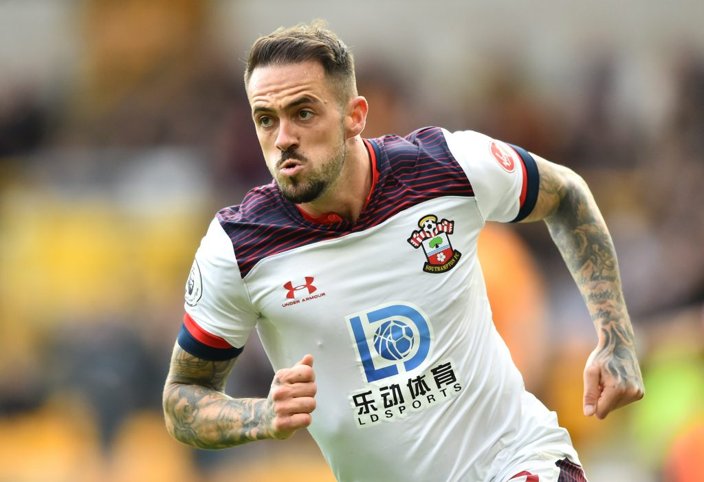 Tottenham Hotspur are linked with a move for Southampton striker Danny Ings. (GETTY Images)