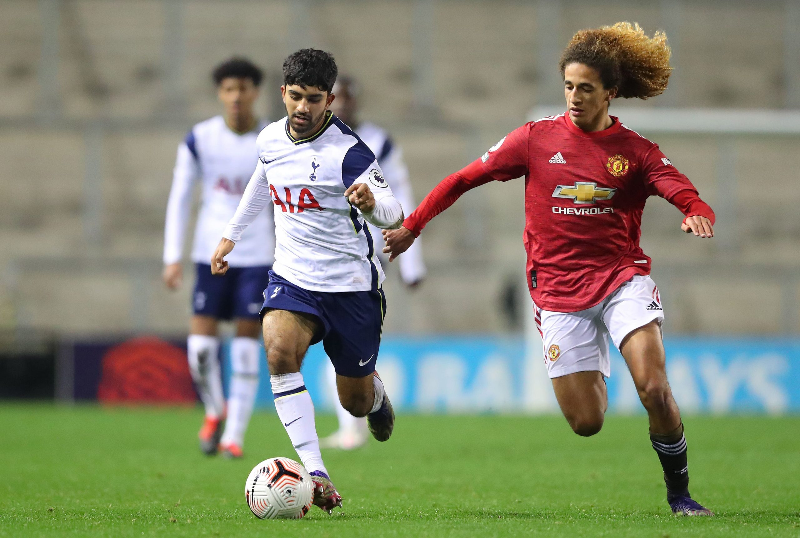 Dilan Markanday in action against Manchester United U-23 in Premier League 2. (GETTY Images)