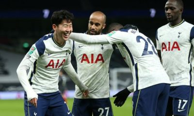 Son Heung-min and Moussa Sissoko scored against Brentford