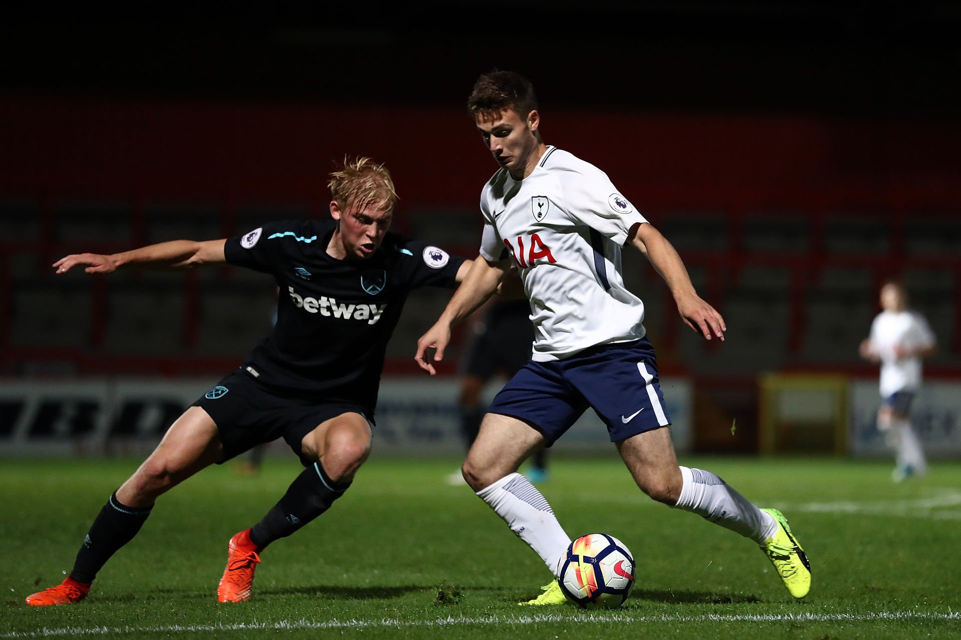Nick Tsaroulla was released by Tottenham in 2018