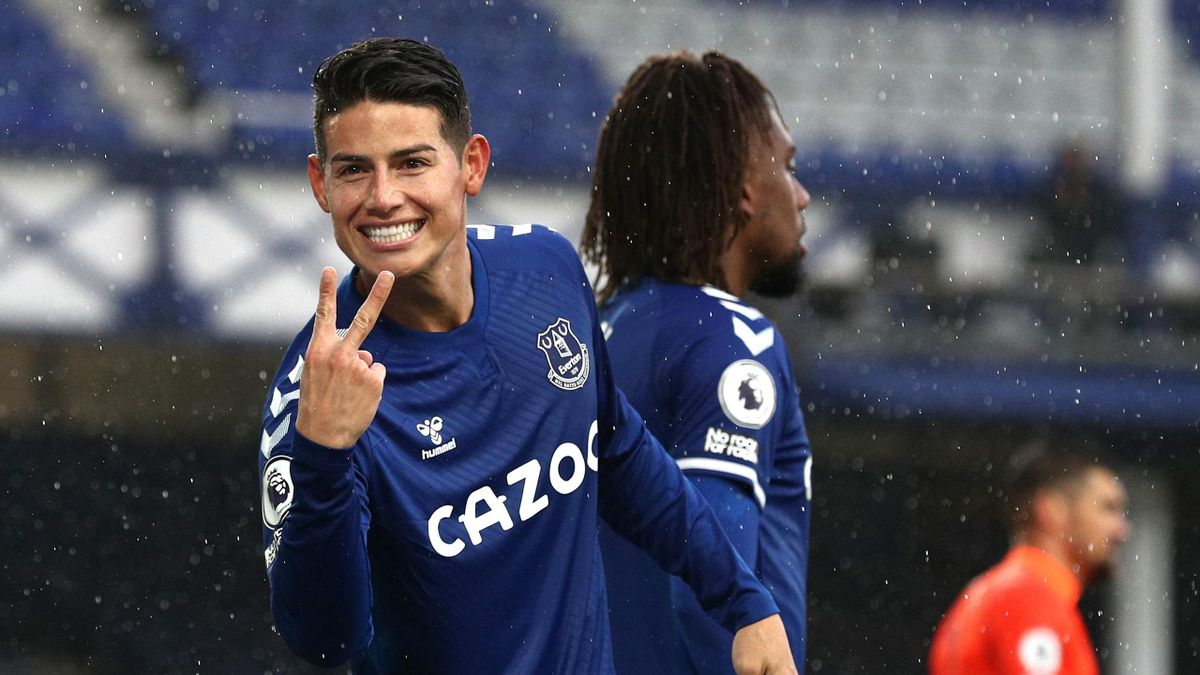 Tottenham Hotspur could take on an Everton side without midfield star James Rodriguez in the FA Cup