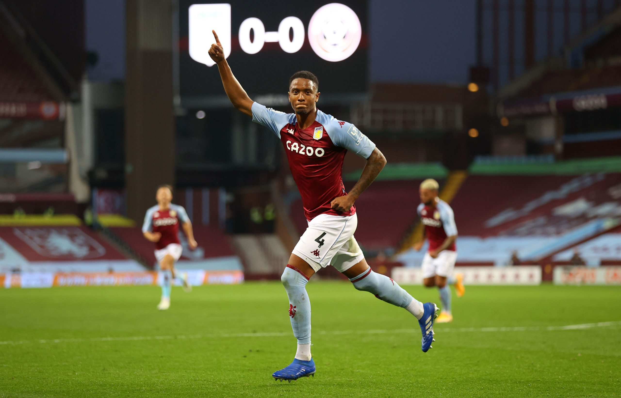 Ezri Konsa was linked with a transfer to Tottenham Hotspur in 2019. (GETTY Images)