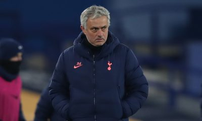 Tottenham boss Jose Mourinho facing the heat after recent results