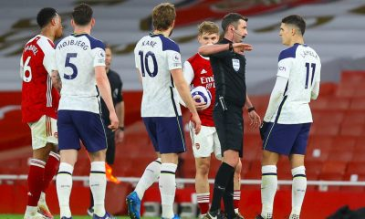 Tottenham lost 2-1 to Arsenal at the Emirates