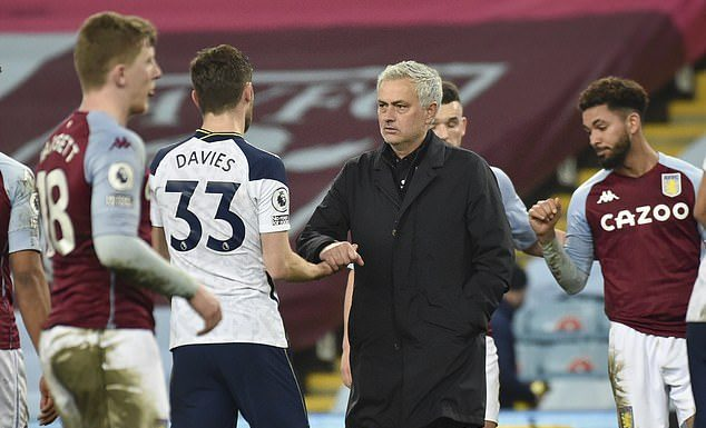 Jose Mourinho pleased with players reaction in Villa win