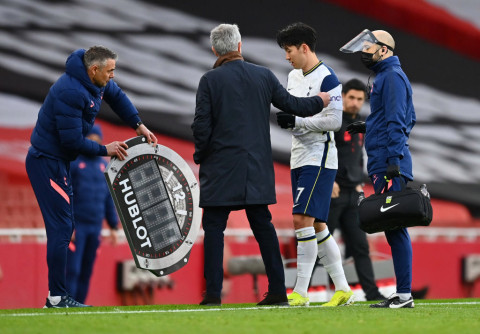 Mourinho hopeful Son's injury not serious