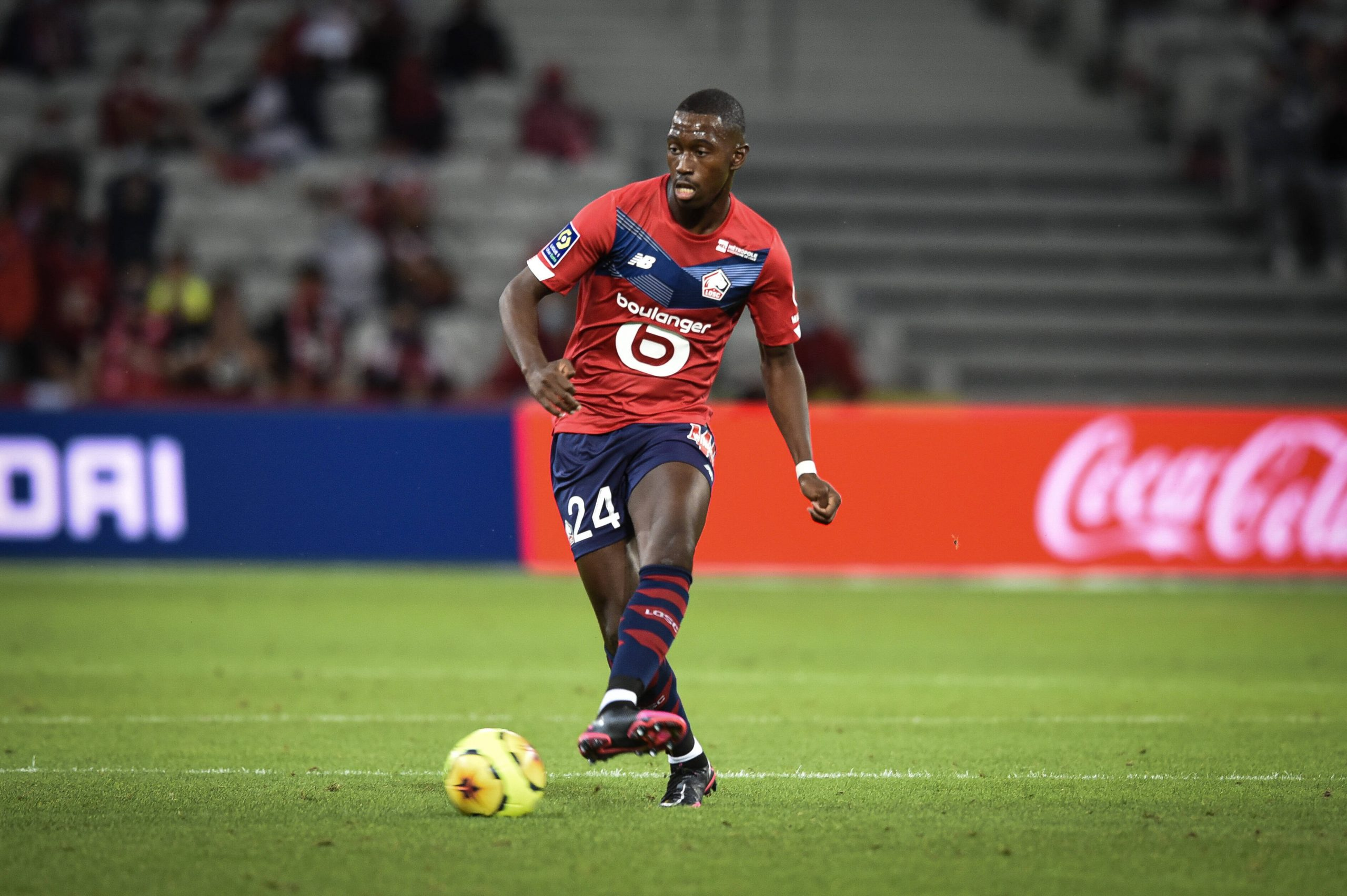 Boubakary Soumare in action for Lille. (imago Images)
