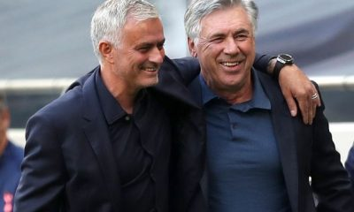 Mourinho and Ancelotti face off later tonight