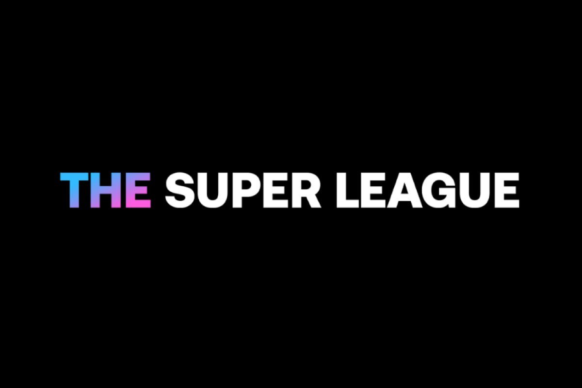 The European Super League logo, of which Tottenham Hotspur are a part.