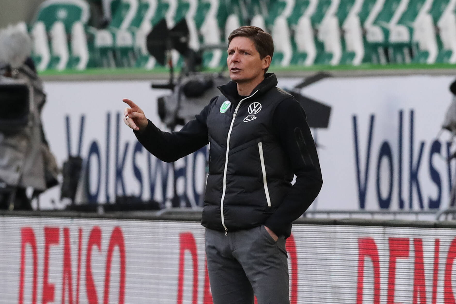 Tottenham Hotspur are interested in making Wolfsburg manager, Oliver Glasner, their Jose Mourinho replacement. (imago Images)