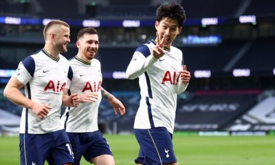 Son was on the scoresheet as Tottenham beat Southampton