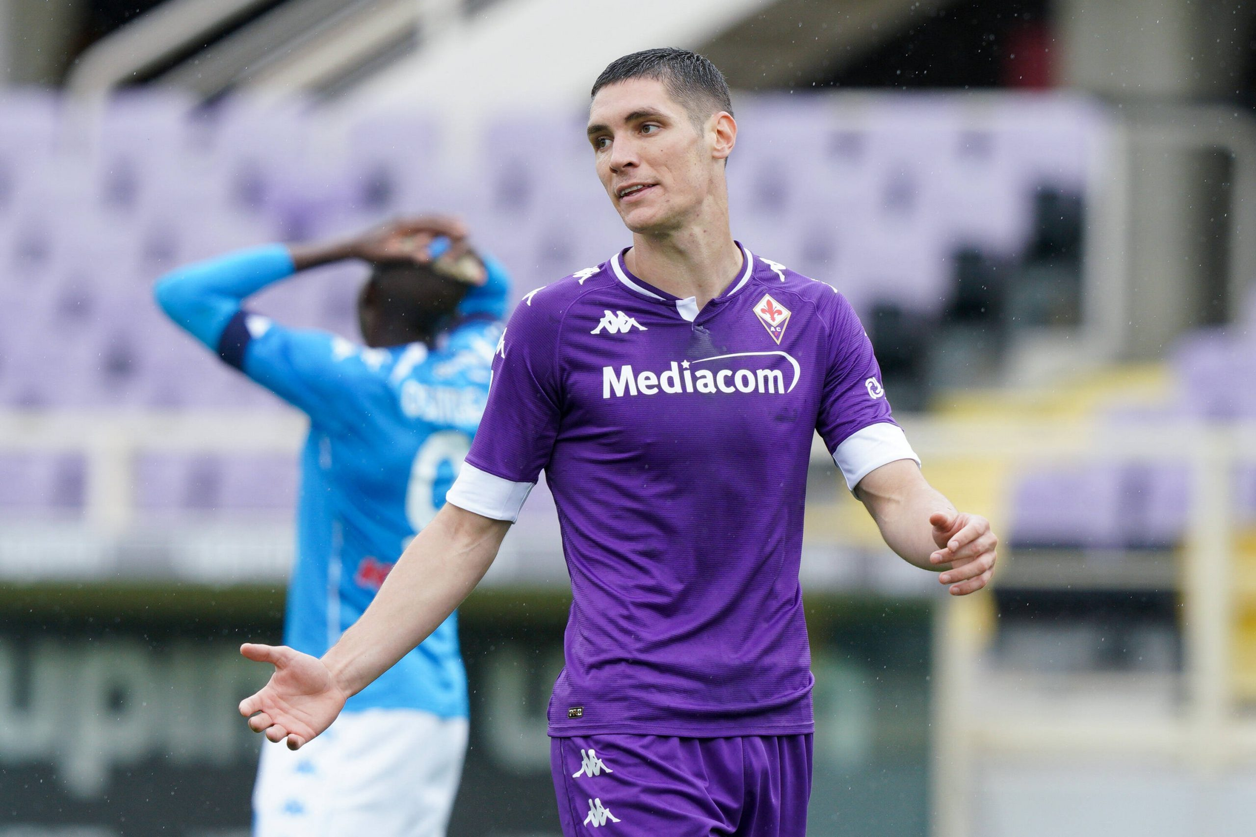 Milenkovic is in the final year of his contract with Fiorentina