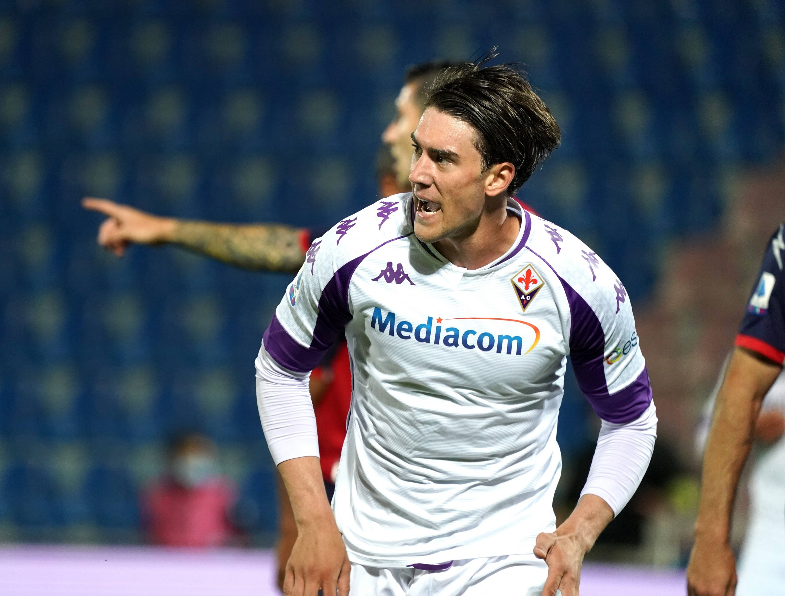 Dusan Vlahovic is a goal-machine in Italy. (imago Images)