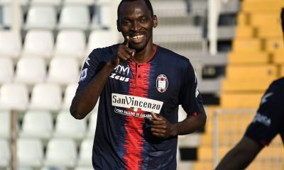 Simy has impressed for Crotone in Serie A. (imago Images)