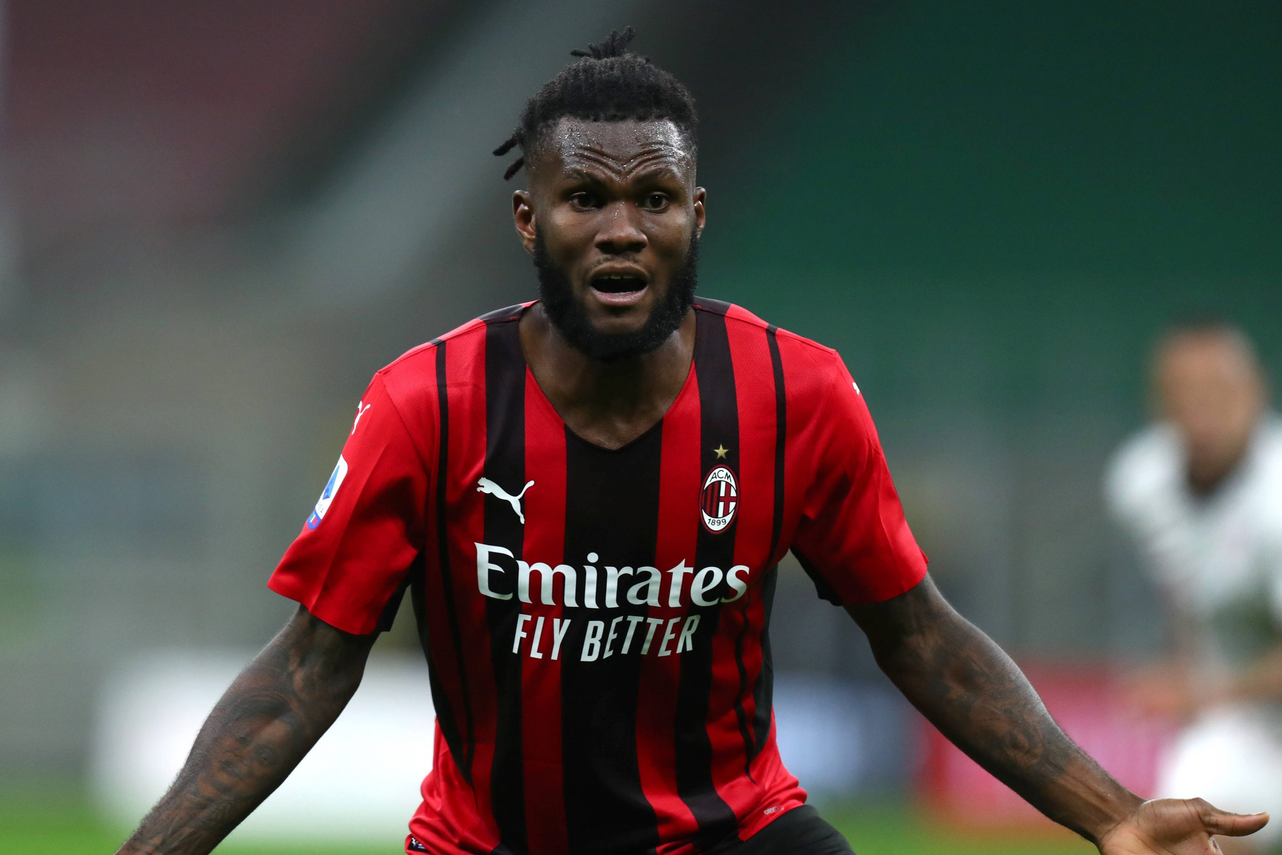 Franck Kessie is an important player at Milan but is wanted by Spurs, Liverpool and Juventus. (imago Images)