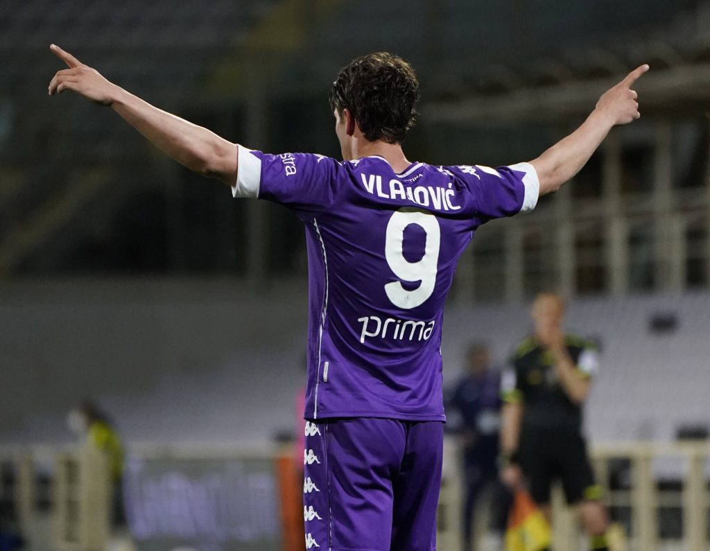 Dusan Vlahovic was a transfer target for Tottenham Hotspur in the summer.