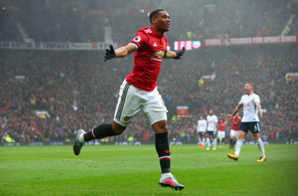Martial has been inconsistent for Manchester United