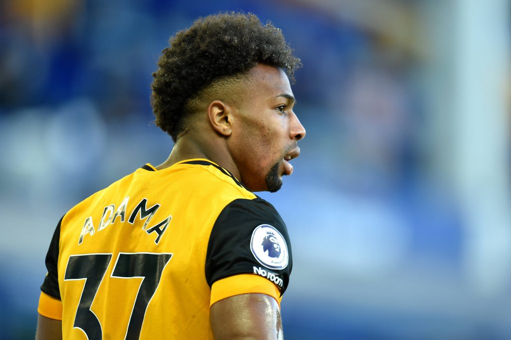 Adama Traore wishes to include a £60million release clause in his new Wolves contract. (imago Images)