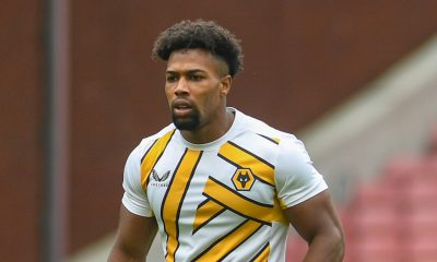 Adama Traore of Wolves is linked to Tottenham Hotspur.