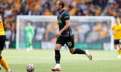 Harry Kane made his first appearance of the season vs Wolves (Twitter/Harry Kane)