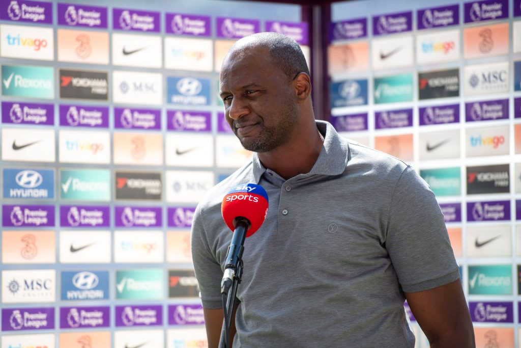 Patrick Vieira wants all three points against Spurs