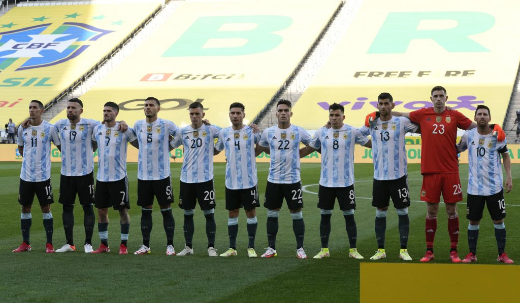 Romero and Lo Celso lining up for Argentina