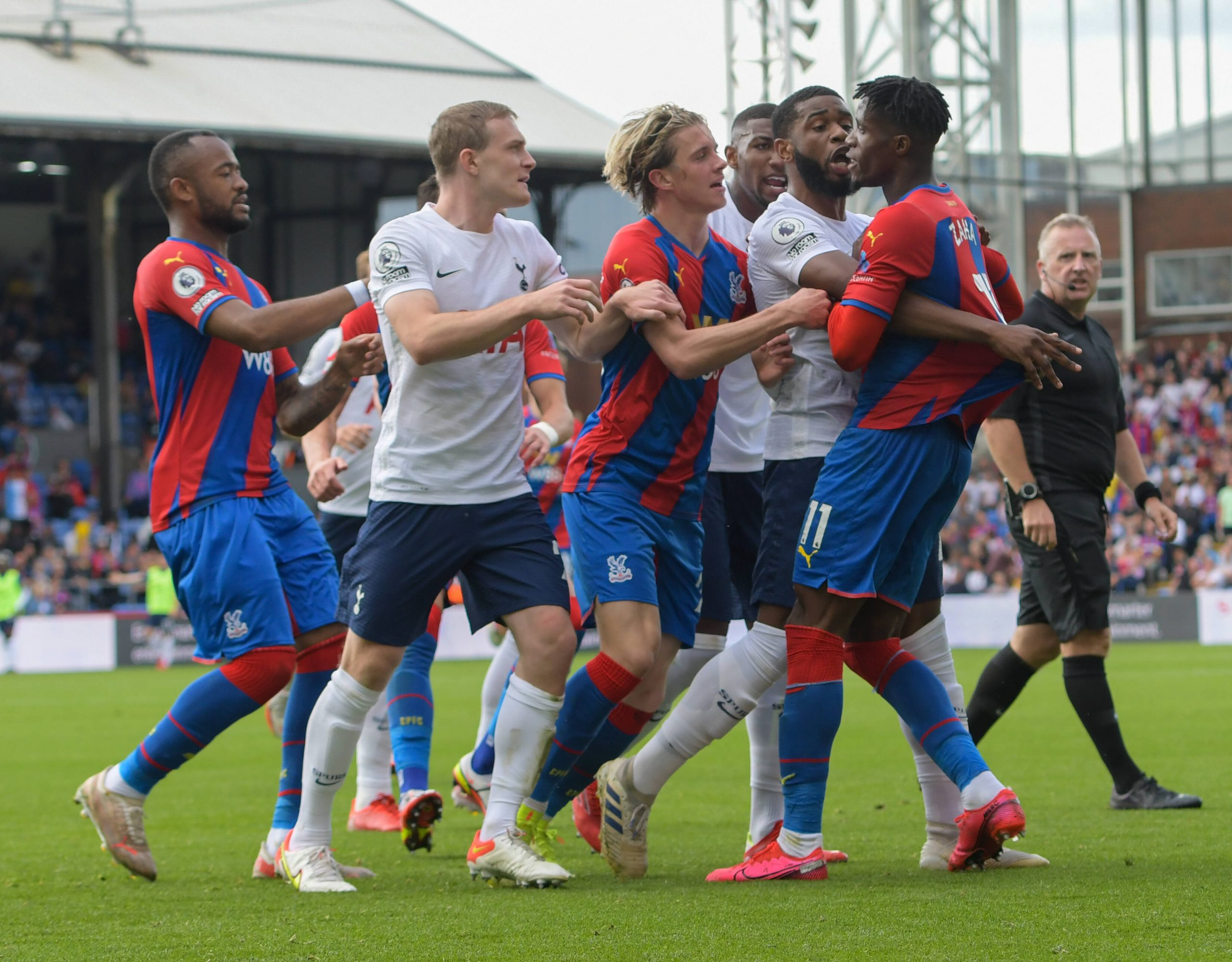 Spurs lost 3-0 against Crystal Palace in the London derby.