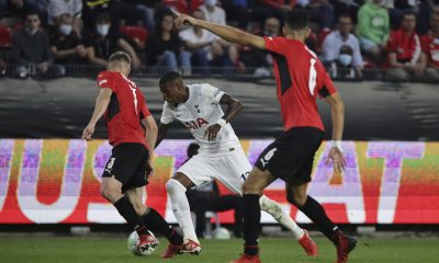 Emerson Royal in action for Tottenham Hotspur against Rennes. (imago Images)