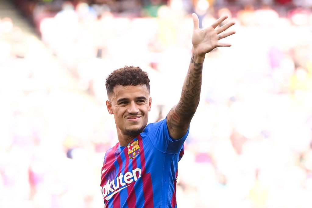 Philippe Coutinho has been linked with both Tottenham Hotspur and Arsenal over a potential move.